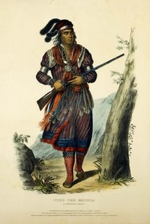 11+Seminole+warrior+Tuko-see-mathla,+1834