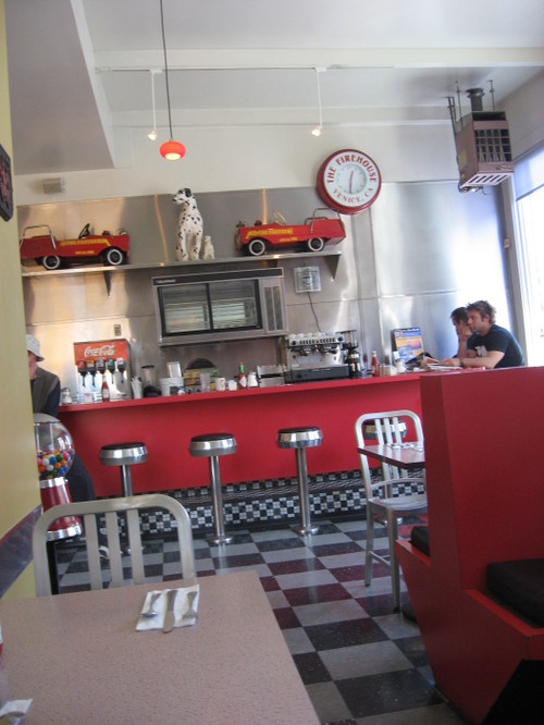 Firehouse Cafe, Santa Monica