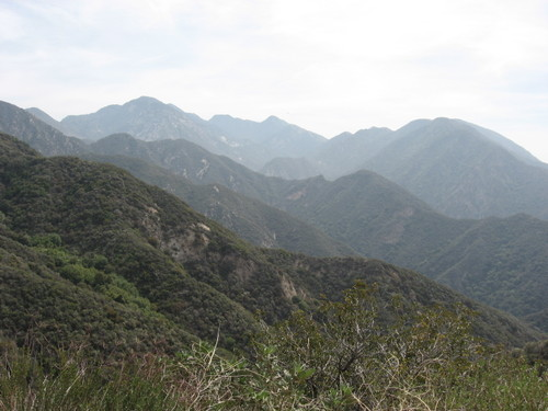 Angeles Crest highway view