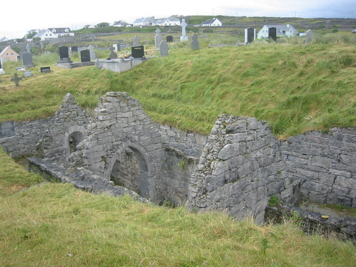 Saint Kevin's church, Inisheer, Aran Isles, Ireland