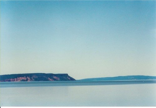 Cape Blomidon, Nova Scotia. Sacred to some of my ancestors.