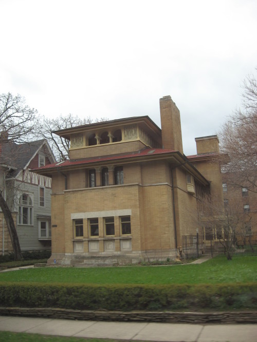 Frank Lloyd Wright House, Hyde Park, Chicago