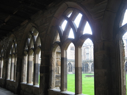 Cloister at Durham Cathedral, England