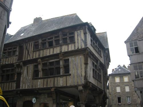 Half-timbered house, Dinan, Brittany