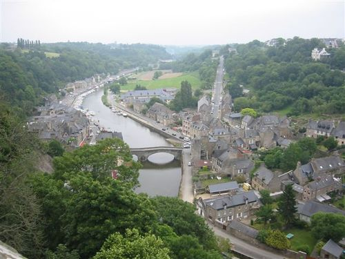 From walls of Dinan, Brittany