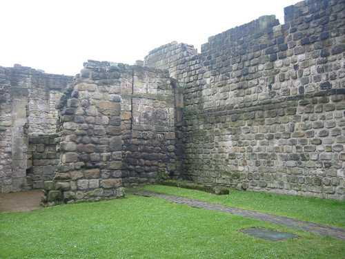 The walls of Bede's monastery