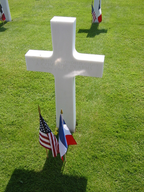 One of the many unknown soldiers of Omaha Beach.