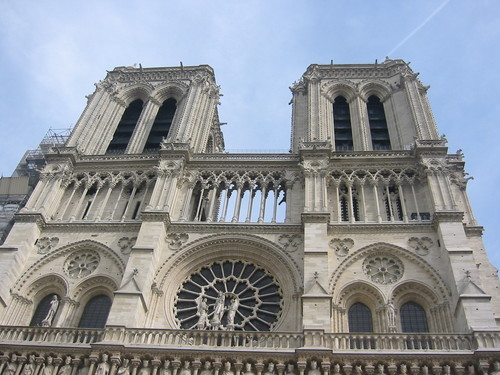 Towers of Notre Dame de Paris