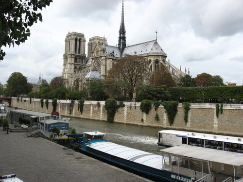 Notre-Dame from the left bank