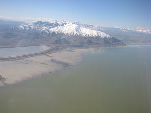 Great Salt Lake, Utah, from the air