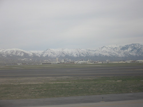 Salt Lake City from the airport, April 2005