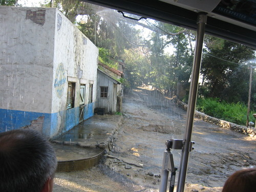 Universal Studios: flash flood in a Mexican village