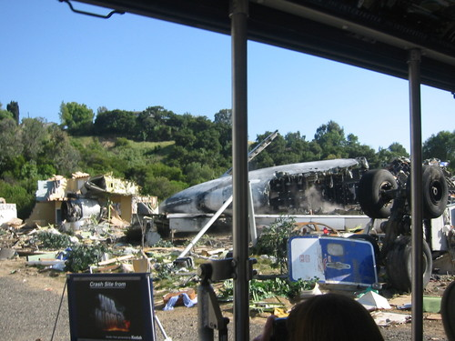 Universal Studios: War of the Worlds set